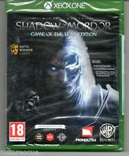 "Middle-Earth Shadow of Mordor GAME OF THE YEAR EDITION ""NEUF"" * XBOX ONE (1) *"