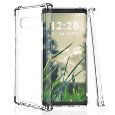 For Samsung Galaxy Note8 Clear Transparent Case Shockproof Hard TPU Bumper Cover
