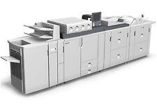Ricoh C901 PRO Graphic Arts + Digital Production Printer w heavy duty staple