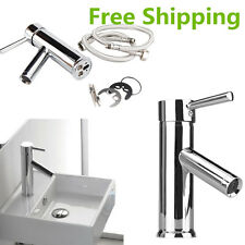 Deluxe Chrome Brass Bath Bathroom Kitchen Toilet Taps Faucet Basin Sink Mixer SA