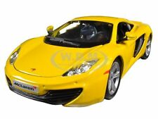 MCLAREN MP4-12C YELLOW 1/24 DIECAST CAR MODEL BY BBURAGO 21074