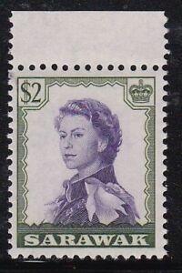 Album Treasures Sarawak Scott # 210 Elizabeth Mint NH