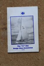 X ONE DESIGN CLASS ASSOCIATION YEARBOOK 1965 - 1966 SAILING KEELBOAT