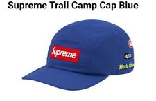 Supreme Blue Trail Camp Cap BNWT SS20 Red Box logo
