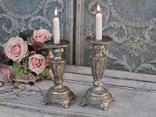 Chic Antique Kerzenleuchter Klein Leuchter Kerzenhalter Shabby Vintage Landhaus