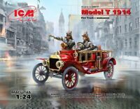 1/35 Assembly kit model Model T 1914 Fire Truck with crew (ICM)