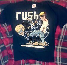 RUSH Shirt M 1991 NEW VINTAGE Rolling The Bones US Tour Pushead HTF RARE OOP