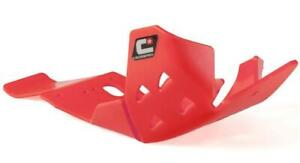 CrossPro RED DTC Engine Bash Guard With Link Protection Honda CRF450R 2018