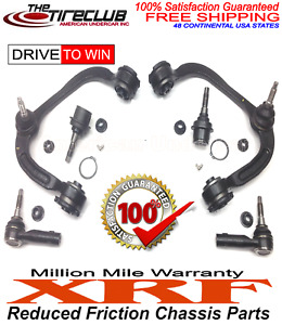 XRF Lifetime Ball Joints Control Arm & Bushing Kit 15 - 17 Ford Expedition