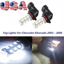 FIT Chrysler 300 300C 2005-10 LED Fog Lights 6000K White Xenon Bulbs US Shiping