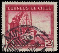 "CHILE 225 (Mi316) - Mercantile Marine Vessels ""1943 Printing"" (pa75690)"
