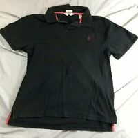 Penguin by Munsing Wear Men's Solid Black Polo XL Classic Fit Short Sleeve