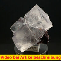 7750 Fluorite Sphalerite ca 7*9*5cm 1998 Stonewall M. Tennessee USA MOVIE