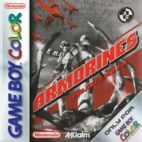 Nintendo GameBoy Color Spiel - Armorines in Project Swarm Modul