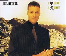 I love I hate - Neil Arthur ( Blancmange ) 4 Track CD Maxi Single Ep Chrysalis