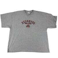 Ohio State Buckeyes T Shirt Men Size 2XL Embroidered Heather Gray