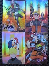 Naruto Anime / Manga Holographic Postcards #3 ( Set of 10 )