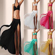 donna costume da bagno bikini pareo mare SCIALLE LUNGA sarong abito