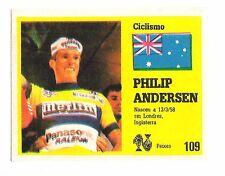 Vintage Portugese Golden Idols Sticker Tour De France Cyclist Philip Andersen
