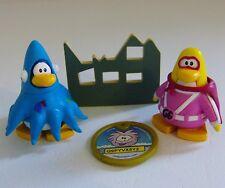 Disney Club Penguin Gamma Gal & Squidzoid Figures