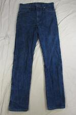 Wrangler 13MWZ Dark Denim Jeans-Größe 32x36 messen 32x35 Cowboy