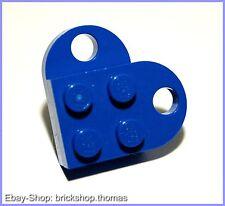 Lego Herz - blau 2-teilig - heart - Schalke - NEU / NEW
