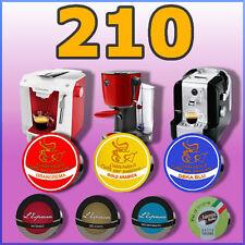 210 capsule cialde caffè compatibili A MODO MIO a scelta, caffè, orzo, the, cioc
