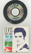 elvis presley - love me tender  rare holland  cd single