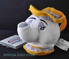 Mrs Potts Beauty & The Beast Disney Store Mini Bean Bag w/ Tag Plush Teapot