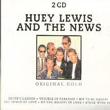 Huey Lewis and the News Original Gold - 2 CD Set - Import