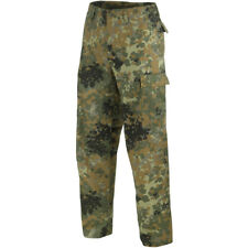 Ranger BDU Mens Army Combat Work Wear Us Trousers Pants Flecktarn Camo S-3XL