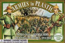Armies in Plastic WWI German Army w/Pickelhaube Helmet 1/32 Scale 54mm dark blue