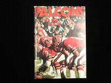 1974 Atlanta Falcons NFL Media Guide