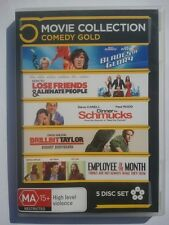 BLADES OF GLORY/HOW TO LOSE FRIENDS/DINNER FOR SCHMUCKS/DRILLBIT TAYLOR + DVD