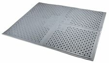 Petlinks Purr-fect Paws Cat Litter Mat Gray Large