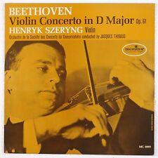BEETHOVEN: Violin Concerto SZERYNG Monitor MC 2094 Vinyl LP Rare