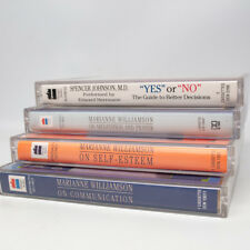 Marianne Williamson Lot of Three Cassettes Communication Self Esteem Meditation