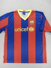 FC Barcelona Replica Soccer Jersey (#10 Messi) Adult XL