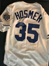 Kansas City Royals Eric Hosmer Signed Autographed L Jersey COA BNWT