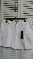 Earl Jeans Womens Shorts Size 16 Embroidered Detail NEW