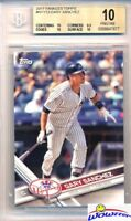 2017 Topps Gary Sanchez All Star Rookie BGS 10 PRISTINE NY Yankees!