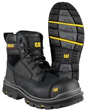 """CAT Caterpillar Gravel 6"""" Water Resistant Safety Mens Industrial Boots UK6-13"""