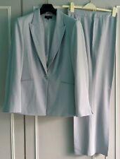 DEBENHAMS COLLECTION BLUE TROUSER SUIT. SMART, WEDDING, CRUISE, WORK. SIZE 20