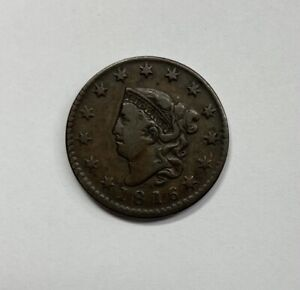 1816 Large Cent Very Fine +