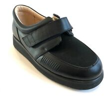 NEW Mt Emey MENs Orthopedic Black Leather Shoes #718 4 E Width Size 5
