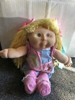 Vintage 1991 cabbage patch kids CPK Doll Hasbro