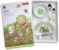 WMF Pitzelpatz Vajilla para niños niñas, 6 piezas Plato, Cuenco y Cubiertos