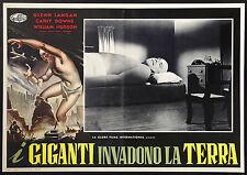 CINEMA-fotobusta I GIGANTI INVADONO LA TERRA langan, downs, BERT I. GORDON
