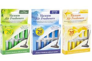 Vacuum Fresheners Scented Hoover Dust Bags Filters Cleaner Vac Air Freshener