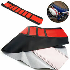 Durable Rubber Wearproof Motorcycle Dirt Bike Seat Cover Protector Easy Install